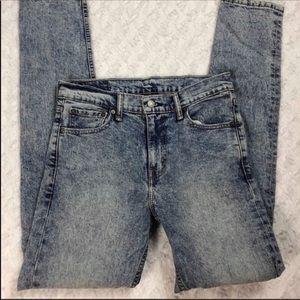Levi's 510 Acid Wash Slim Skinny Jeans W30 L34